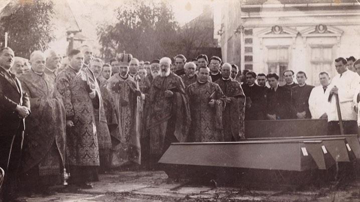 80 de ani de la mutarea osemintelor celor șase arhierei greco-catolici în Capela Arhiereilor