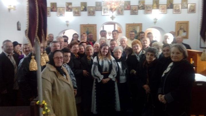 aniversarea a 90 de ani de la sfințirea bisericii din cetea