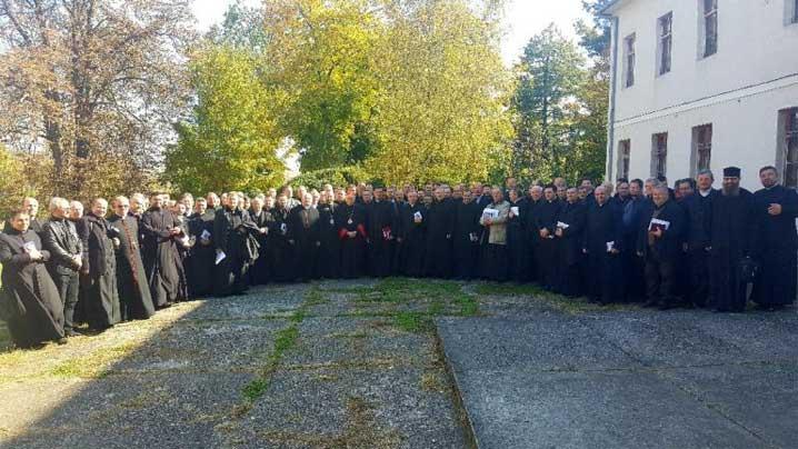 preoți din Arhieparhia de Alba Iulia și Făgăraș
