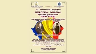 Simpozion Omagial dedicat Episcopului Greco-Catolic Iuliu Hossu