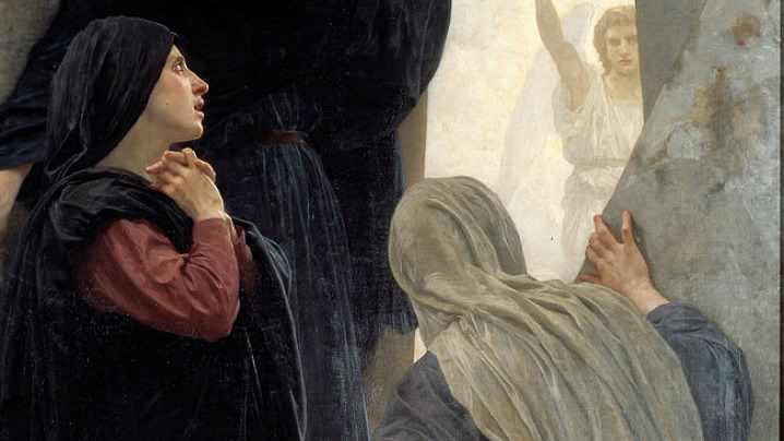 Cel Înviat este nimeni altul decât cel Răstignit
