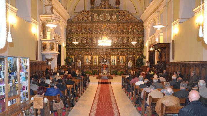 Blaj. Denia celor 12 Evanghelii în Catedrala Arhiepiscopală Majoră