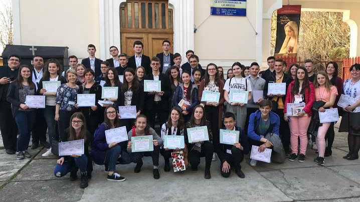 București – Olimpiada națională de religie catolică 2018