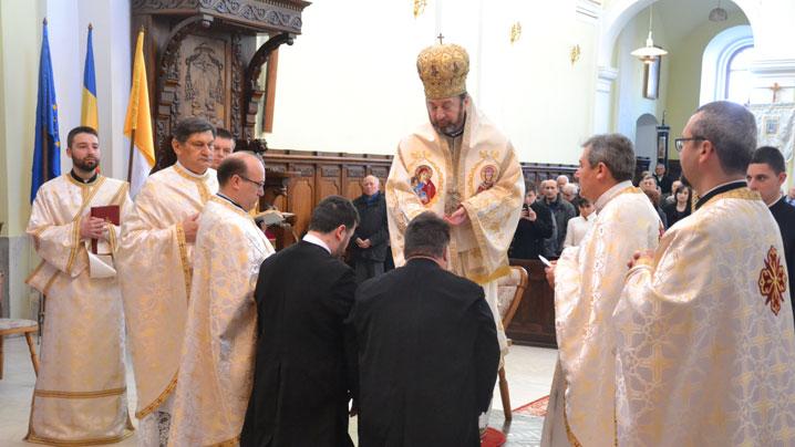 """Hirotonire de preot în Catedrala Arhiepiscopală Majoră """"Sfânta Treime"""" din Blaj"""