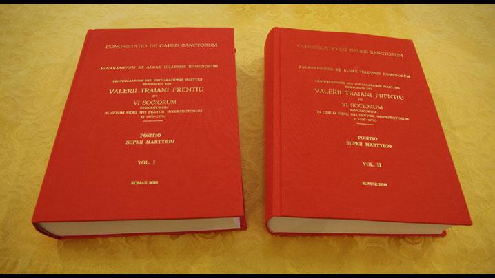 Predarea documentației Cauzei de beatificare a episcopilor greco-catolici către Congregația Cauzelor Sfinților