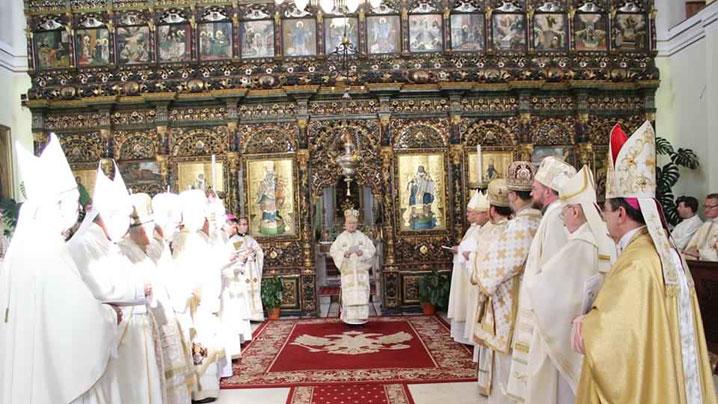 Start BRU Alba-Iulia şi Făgăraş Oradea Cluj-Gherla Lugoj Maramureş Canton Bucureşti Sfânta Liturghie de deschidere a sesiunii de primăvară CER