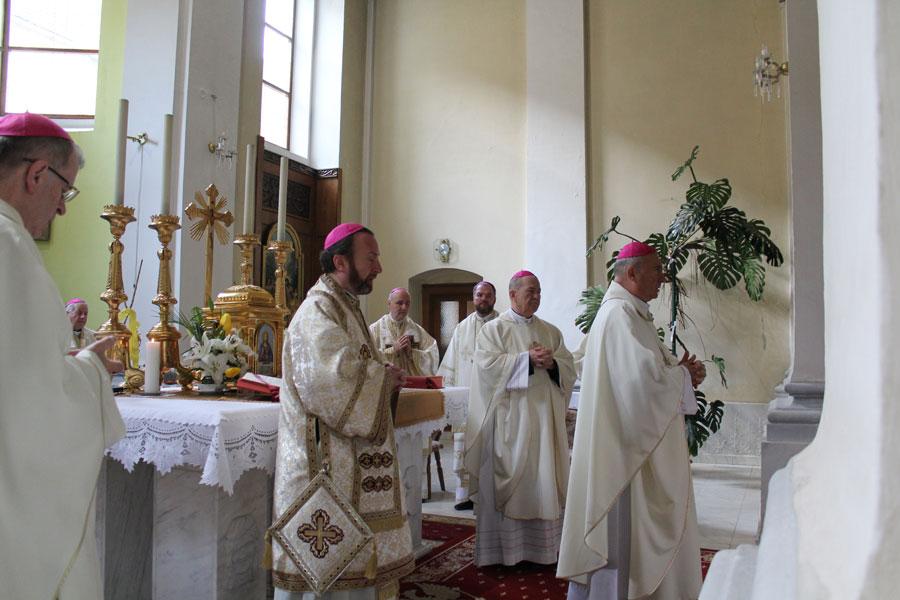 Sfânta Liturghie în ritul latin în Catedrala Blajului