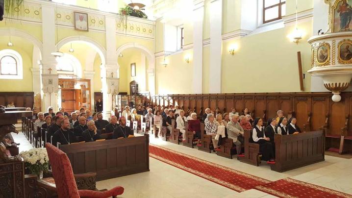 Comemorarea poetului greco-catolic George Coșbuc, în Catedrala Blajului