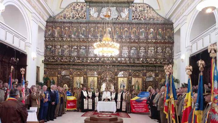 Omagierea Episcopului Inocenţiu Micu-Klein, întemeietor al Blajului și erou al Națiunii Române