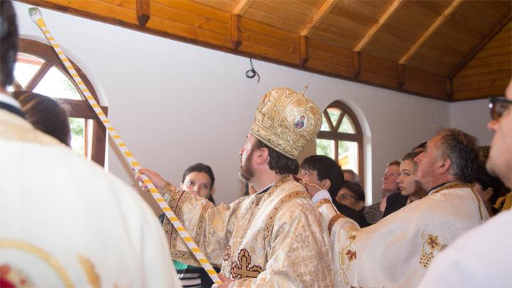 Sfințirea bisericii greco-catolice din Subcetate