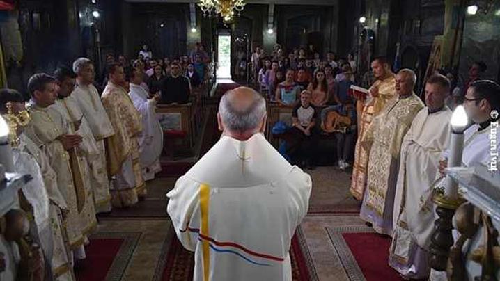 Hirotonire de diacon în biserica Seminarului