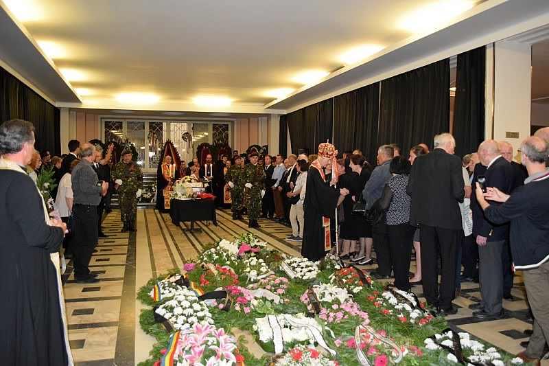 Înmormântarea dnei Cornea, semn de unitate și solidaritate