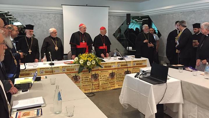 A început la Lungro, Italia, Întâlnirea Episcopilor Catolici Orientali din Europa