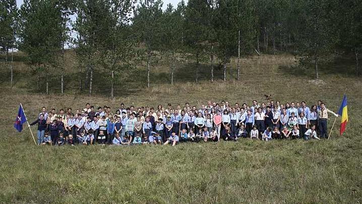 Deschiderea anului cercetășesc la grupul din Cluj-Napoca