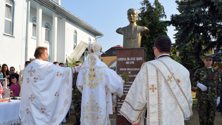 Dezvelirea bustului Cardinalului Hossu și pelerinajul la Cormaia
