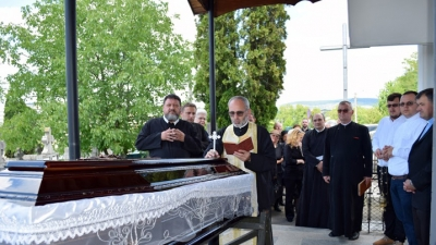 Funeraliile pr. Ioan Romului Silaghi
