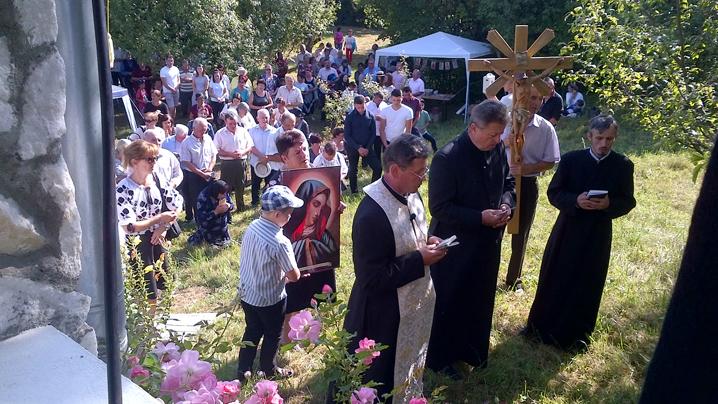 Pelerinajul Anual la Chiheru de Jos în sărbătoarea Adormirii Maicii Domnului