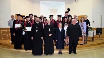 Promoția 2018 de studenți ai FTGC, Dep. Cluj-Napoca, la festivitatea de absolvire