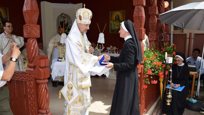 Serbarea hramului mănăstirii «Sfânta Macrina» din Cluj