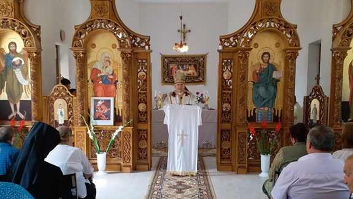 Sfinţirea noii biserici din Uivar