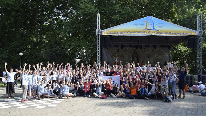 Tinerii Eparhiei de Cluj-Gherla la INTC 2018 Satu Mare