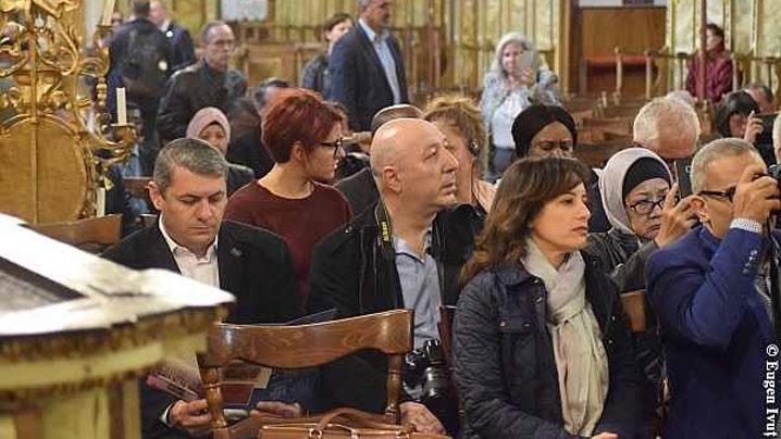 27 de ambasadori străini au vizitat Catedrala Sf. Nicolae, din Oradea
