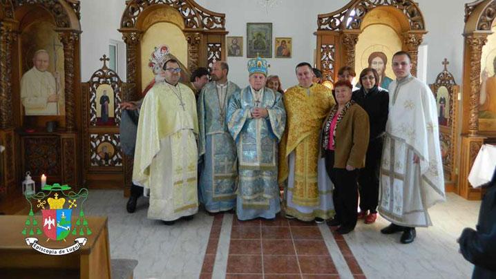 Angajații Curiei Episcopale de Lugoj în pelerinaj la Scăiuș