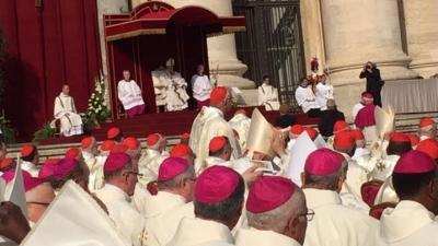PS Florentin prezent la canonizarea celui ce l-a creat pe primul Cardinal român