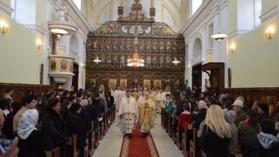Sinodul Episcopilor BRU. Sfânta Liturghie în Catedrala Blajului