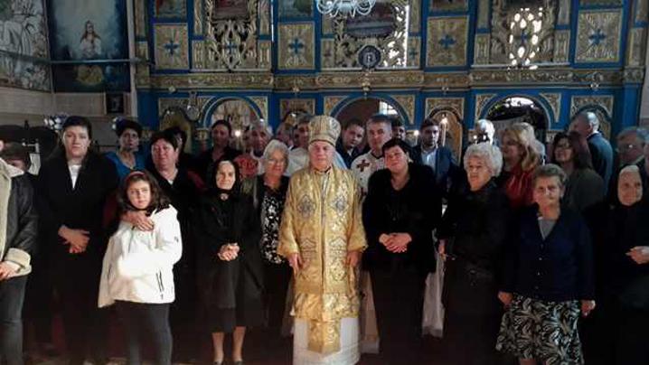 Vizită pastorală în parohia Bârzava
