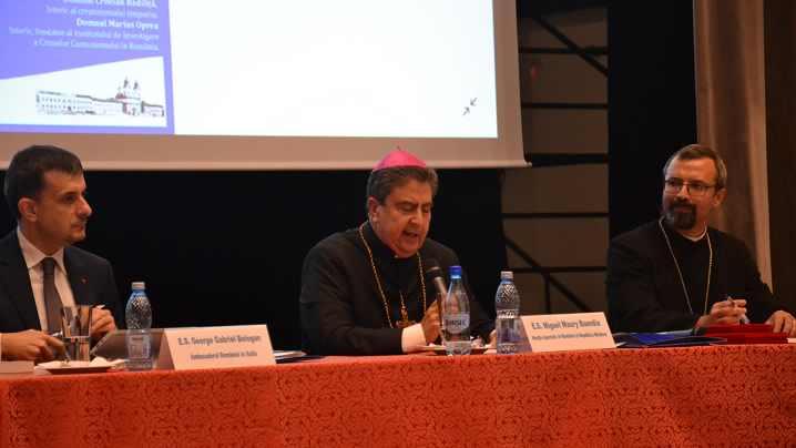 Conferința Excelenței Sale Miguel Maury Buendia, Nunțiu Apostolic în România