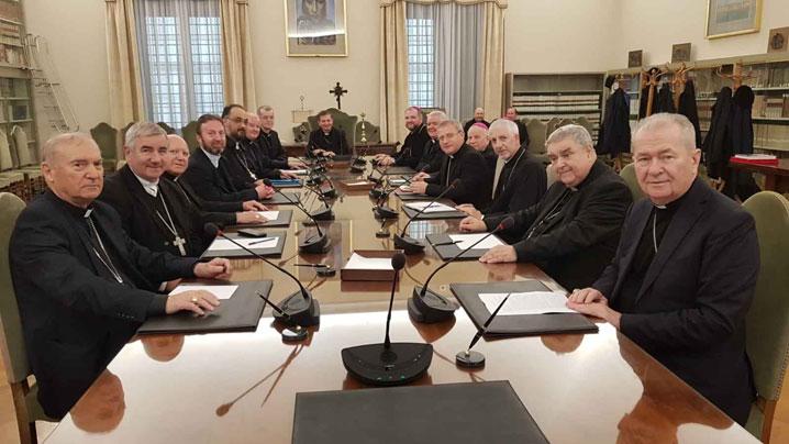 Episcopii catolici din România în vizită la Secretariatul de Stat al Vaticanului