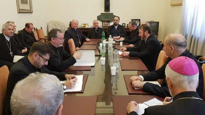Episcopii catolici din România la Congregația pentru Bisericile Orientale