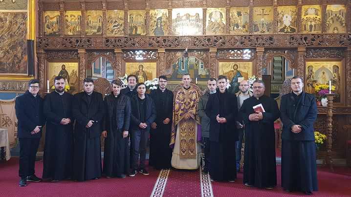 Exerciții spirituale la Seminarul Arhiepiscopal Major din Blaj