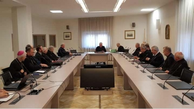 Ierarhii catolici din România în vizită la Congregația pentru Educație Catolică