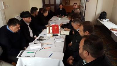 Întâlnirea părintelui Vicar general cu preoții din protopopiatele Ier și Marghita