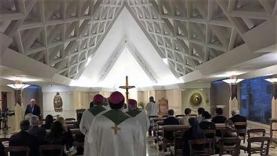 PS Florentin despre Liturghia cu Sf. Părinte