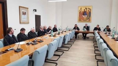Vizita episcopilor la Dicasterul pentru Laici, Familie și Viață