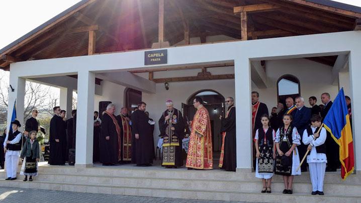 Vizită pastorală și sfințire de capelă mortuară în Frata – protopopiatul Someș