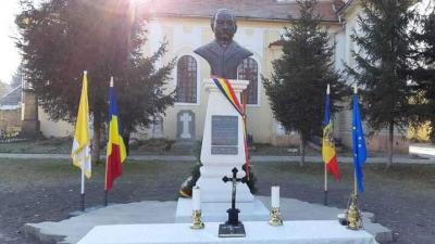 Dezvelirea bustului lui Alexandru Vaida Voievod la Sibiu