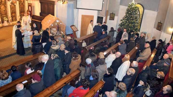 Nașterea Domnului Isus Hristos, întâmpinată prin celebrări solemne în Eparhia de Cluj-Gherla
