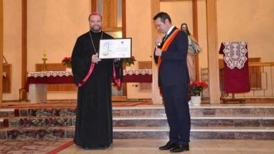 Preasfințitul Părinte Vasile Bizău – Cetățean de Onoare al Municipiului Baia Mare