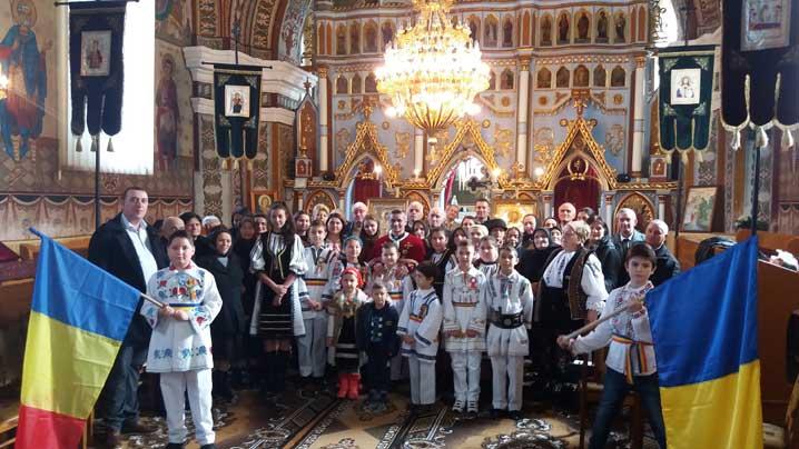 Sărbătoarea Centenarului la Hodac