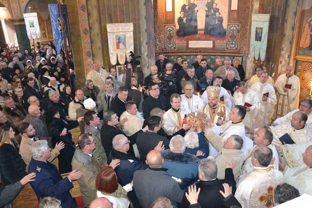 Ziua Națională a României a fost sărbătorită în biserica închinată Unirii Tuturor Românilor