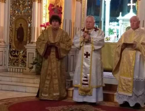Hirotonire de diacon în Catedrala din Lugoj