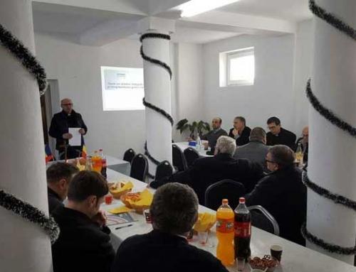 Întâlnirea preoților din protopopiatul Târnăveni, ianuarie 2019