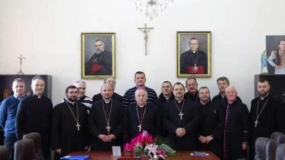 Reuniunea lărgită a Colegiului consultorilor eparhiali al Eparhiei de Lugoj, ianuarie 2019