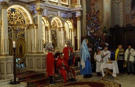 Seara de Ajun și prima zi de Crăciun 2018 la Catedrala din Lugoj