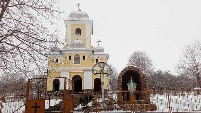 Sfințirea unei grote în onoarea Sfintei Fecioare Maria, în parohia Tăuni din Protopopiatul Blaj