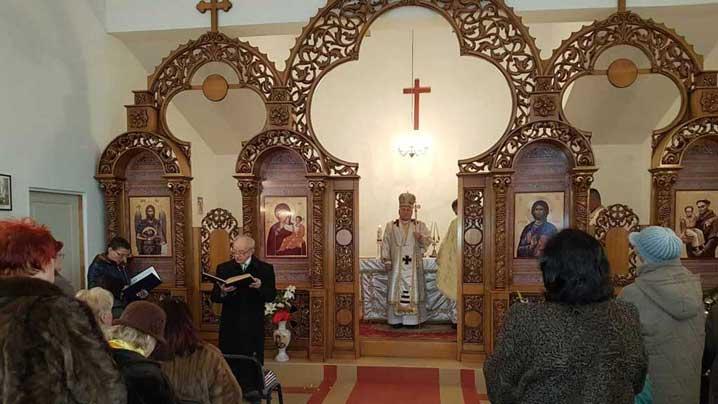 Vizită pastorală a Prea Sfințitului Alexandru la Arad